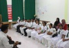 Information session at Maradhoo Feydhoo School